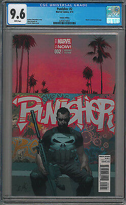 PUNISHER #2 (2014) Jerome Opena 1:50 Variant CGC 9.6