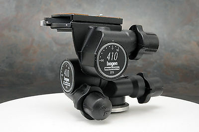 - Bogen Manfrotto 410 Junior Geared Tripod Head with QR Plate 3275
