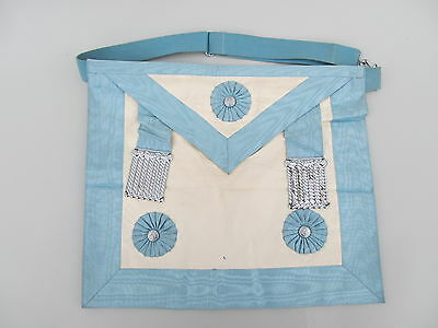 Vintage Masonic Apron. Empire Lodge 63. Dominion Regalia 1964
