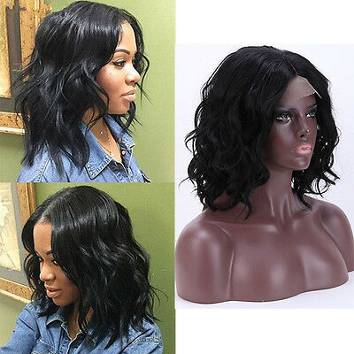 Women Synthetic Lace Front Wigs Short Curly/Wavy Synthetic Wig Heat Resistant BQ