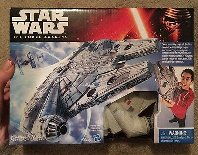Star Wars The Force Awaken Millennium Falcon