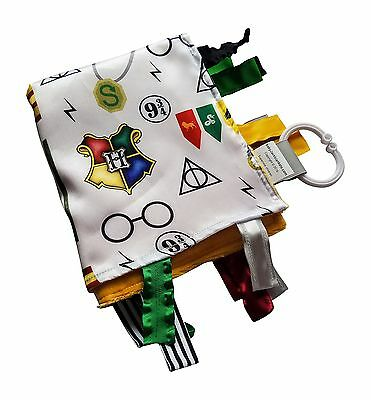 Wizard Baby Tag Blanket for Harry Potter Baby Nursery. Teach baby about Wizar...