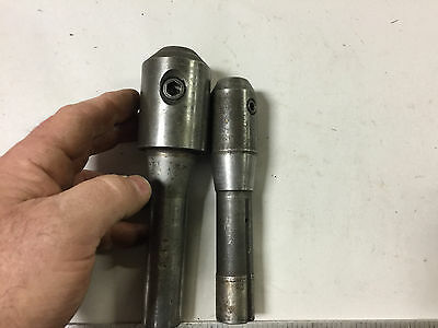 MACHINIST TOOLS LATHE MILL Machinist 2 R8 R 8 Collet End Mill Holders   D7
