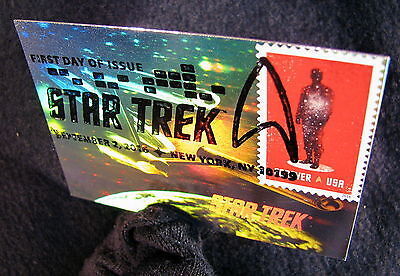 Star Trek TOS 50th Anniversa Stamp 50 Years Holographic FDC First Day Issue 6-RD