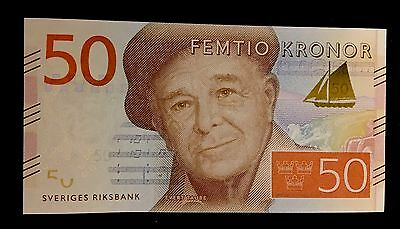 Sweden 50 Kronor Nd(2015) P-New Unc