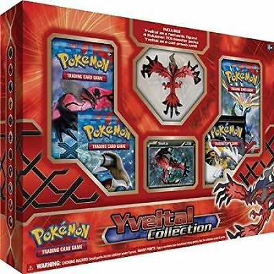 Yveltal XY LEGENDS Collection Box Factory Sealed POKEMON TCG 4 Booster Packs