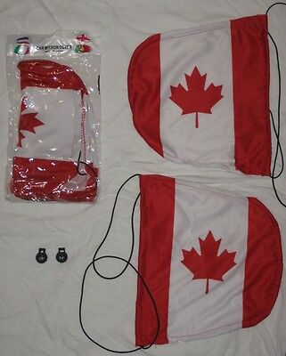 CANADA - Car Mirror Cover, Mirror Sox, Mirror Flag - JULY 1