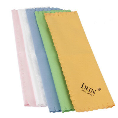 5x Cleaning Cloth for Guitar Piano Musical Instruments Polishing Mixed Color