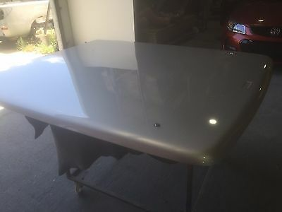 VE VF Holden Commodore Smooth Nitrate Silver Hard Tonneau Cover Flat Ute Lid