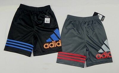 Adidas boys Basketball / Sports Active Shorts sizes 6,7,7X