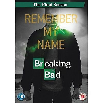 Breaking Bad - The Final Season (DVD, 2013, 3-Disc Set, Box Set)