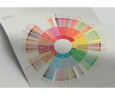 NEW Coffee Taster's Flavour Wheel Chart - SCAA 2016 Coffee