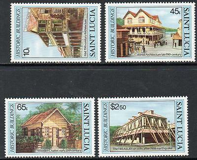 St Lucia MNH 1984 Historic Buildings