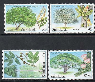 St Lucia MNH 1984 Forestry Resources