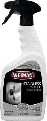 Weiman - 22-Oz. Stainless Steel Cleaner and Polish - Multi