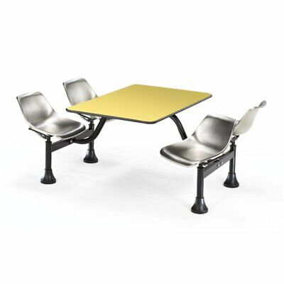 OFM 1002 Cluster Lunchroom Table in Yellow