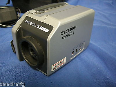Minolta Land Cyclops Compac 3 Infrared Thermometer Temperature/emissivity Camera