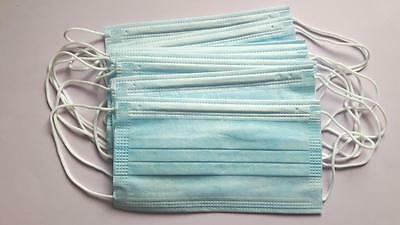 Disposable Surgical  Ear Loop Face Mask Salon Dust Cleaning Flu