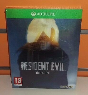 Resident Evil 7 Biohazard Lenticular Edition XBOX ONE NUOVO ITA