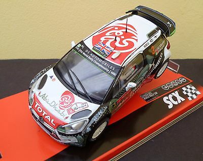 Citroen Ds3 Wrc Rally Portugal A10217X300 Scx/scalextric  New Release Mint/boxed