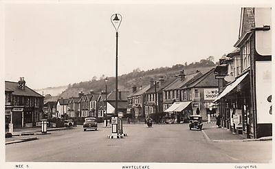 Whyteleafe, Surrey, Real photo, old postcard, unposted 1950