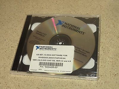 National Instruments Application Development Environment Version 6.9.2 500445R