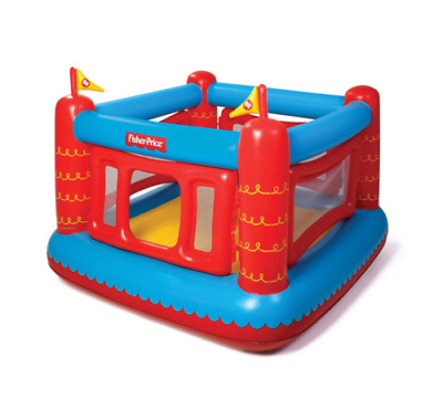 Fisher Price Bouncetastic Inflatable Bouncer Kids Ball Pit House