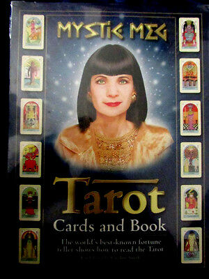 - VERY RARE -  MYSTIC MEG TAROT BOX SET  Pagan Occult NEW AND SEALED