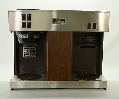 Bunn VPS Commercial Pourover Coffee Brewer Auto Machine Pour-Omatic w/3 Warmers