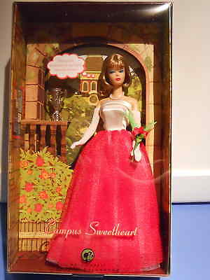 Barbie CAMPUS SWEETHEART Vintage Reproductions 2007 Gold Label NRFB