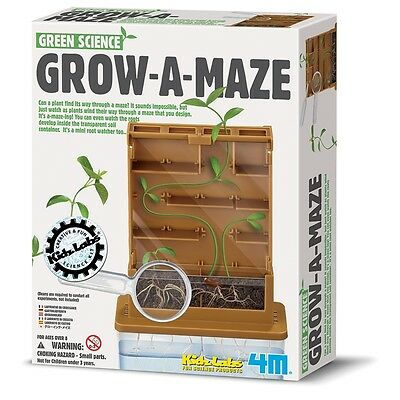 Grow A Maze, Kids Fun Educational Science Nature Toy