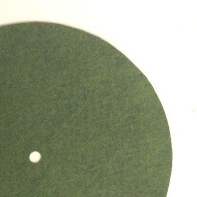 """Replacement Felt & Bumpers for Victor Victrola & Other Brands, 7"""" , Med. Green"""
