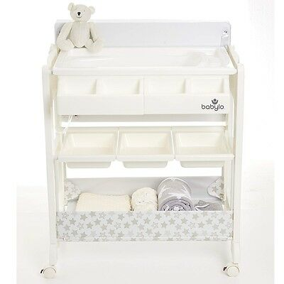 Babylo Smart Change Baby Changing Table Unit, Easy Storage Station