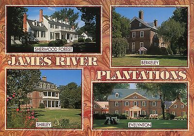Charles City County,James River Plantations,Multiview PC,Berkeley,Shirley,Sherwo