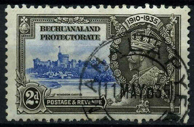 Bechuanaland Protectorate 1935 SG#112, 2d KGV Silver Jubilee Used Cat £6 #D43230