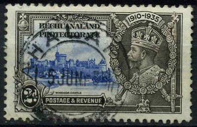 Bechuanaland Protectorate 1935 SG#112, 2d KGV Silver Jubilee Used Cat £6 #D43232