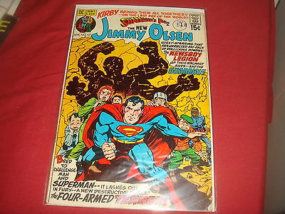 SUPERMAN'S PAL, JIMMY OLSEN #137 Jack Kirby  DC Comics 1971 VG