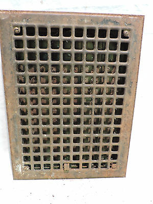 Vintage 1920S Iron Heating Grate Rectangular 16 X 12 C