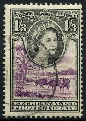 Bechuanaland Protectorate 1955-8 SG#150, 1s3d QEII Definitive Used #D43251