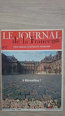 Le Journal De La France N°2 A Versailles !