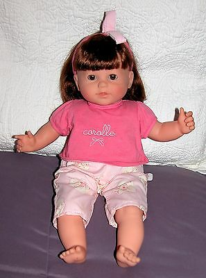 "Lovely 14"" French Corolle Baby Doll ... Brunette with Brown Eyes ... 2013"