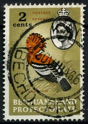 Bechuanaland Protectorate 1961 SG#169, 2c Bird Definitive Used #D43271