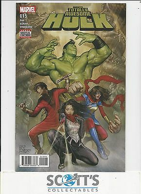 Totally Awesome Hulk  #15  New  (Bagged & Boarded) Freepost