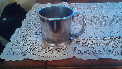 Simpson Hall Miller and Company Quadruple Silver Plated Cup