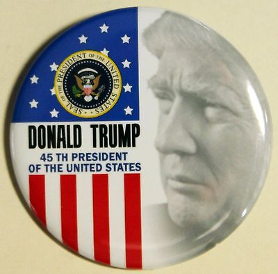 Donald Trump 45Th President Ofthe United States Pinback Button