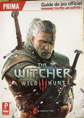 * GUIDE 500 pages TOUT EN FRANCAIS : The WITCHER 3 - WILD HUNT *