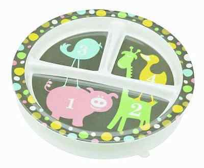 Sugar Booger by Ore Originals Divided Suction Plate Kids Serving Dishes Foodware