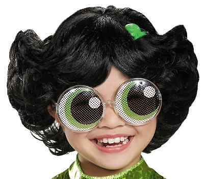 Powerpuff Girls Buttercup Child Wig Kids Dressing Up Costumes Display Disguise