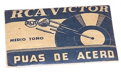 RCA Victor - Antique Phonograph Needle - NOS - From Argentina