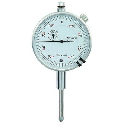 1 in. Travel Machinist Dial Indicator .001 in. Lifetime Warranty Pittsburgh 623